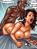 This tight pussy is milking my cock - Detention by Black n White comics 2016